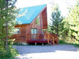 Cabin in the Trees is in a gated community surrounded by the Reservoir, Island Park
