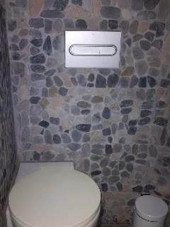new toilet off the shower room