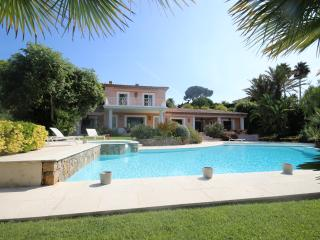 Villa with sea view  and pool in private domain, Antibes