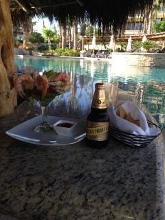 Grab a snack at one of the Esperanza pool-side restaurants