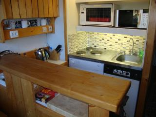 The kitchen area supplied with good equipment, quality cutlery and utensils