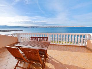 Idyllic apartment by the sea in Vidalici, Croatia, with balcony and amazing view