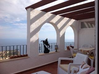 Fantastic flat in Benitachell, Alicante, with huge balcony, pool and stunning sea views, Teulada