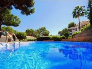 Caleta2. Sea view terraced Apt. Garden & pool., Santa Ponsa