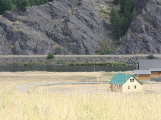 Log Home On The Banks Of The Missouri River, Cascade