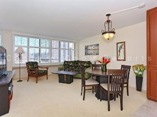 Beautiful views from this 21st floor condo!  Includes W/D, WiFi, parking!, Honolulu