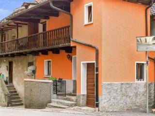 Quaint house in mountain village, Locarno