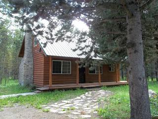 Spruce Fly is a quaint cabin for the small groups., Island Park
