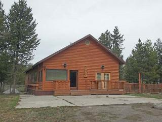Wolf Den is a nice size cabin for your families visit to Island Park.