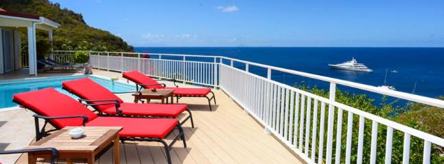 SPECIAL OFFER: St. Barths Villa 70 The View Is Just Astonishing. The Endless Ocean, Gustavia Harbour And The Sunset., Lurin