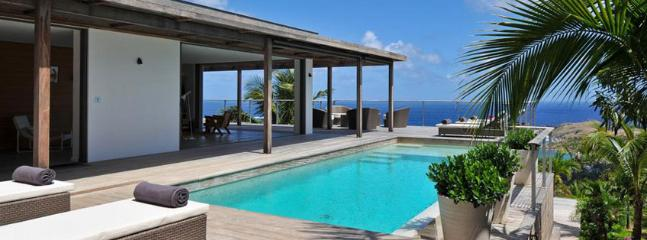 Casa Tigre AVAILABLE CHRISTMAS & NEW YEARS: St. Barths Villa 81 Has An Extraordinary View On The Lagoons Of Petit And Grand Cul-de-Sac., St. Barthelemy