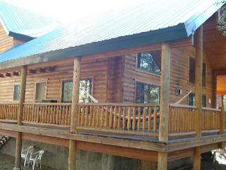 Mountain Luxury Sled-In/Sled-Out Log Cabin - 3BR/3BA, Sleeps 16- Free WiFi..., Island Park