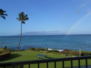 Maui ocean FRONT. 2 Kings. Killer view. Free wi-fi, Lahaina