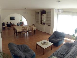 Neoclassic flat with parking in Izmir.