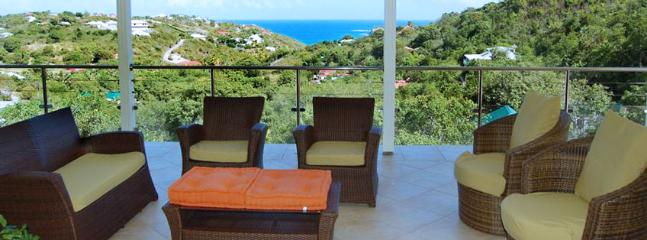Villa Florence SPECIAL OFFER: St. Barths Villa 68 Located On The Hillside Of Marigot In St Barths In The French Antilles.