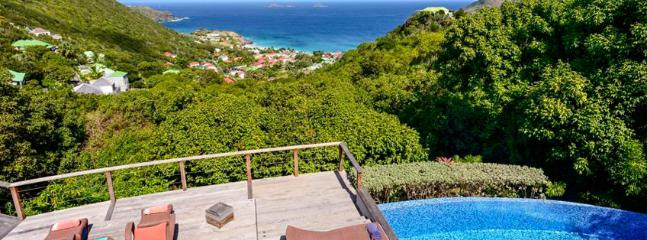 SPECIAL OFFER: St. Barths Villa 80 Nestled Into A Tropical Garden And Overlooks The Hill Of Colombier And The Ocean., Anse des Flamands