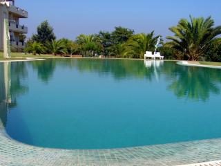 Large apartment with pool and lawned gardens, Olhos de Água