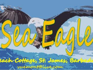 Sea Eagle, tropical Beach bungalow, St. James, Fitts