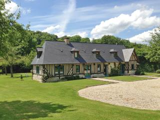 Houses with lush garden & elegant décor, Normandy, Beuzeville