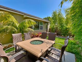 private spacious yards, brand new oversized hot tub, walk to Windansea Beach, La Jolla