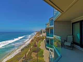 Solana Seascape - oceanfront condo with sweeping ocean views, pool, & tennis, Solana Beach