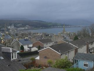 Flat with beautiful views of Rothesay Bay