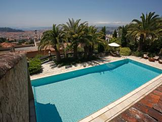 Apartment in nice villa, pool, garden, car park, Nice