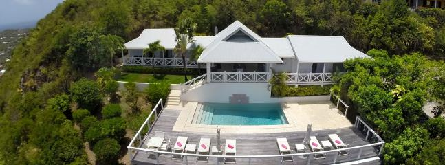 SPECIAL OFFER: St. Barths Villa 79 A Very Private Villa Located On The Hillside Of Vitet With A Clear View Of The Islands In The Distance., St. Barthelemy