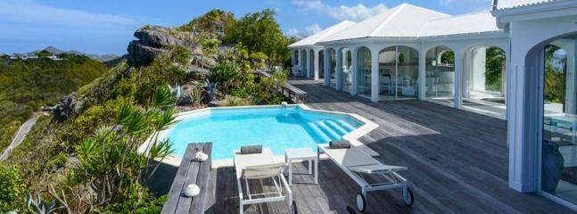 Villa Byzance SPECIAL OFFER: St. Barths Villa 86 This Home Has An Outstanding View On The Ocean, On Each Side Of The Villa., Anse des Flamands