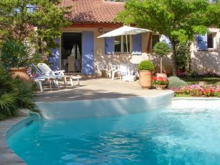 Charming villa in Trets, Provence, with pool and idyllic garden