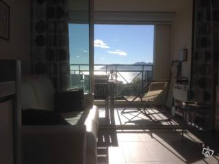Appartement F2 Cannes vue mer, piscine , parking