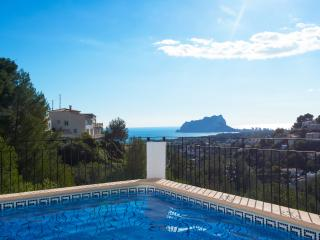 VILLA NEBUA: seaviews, private pool, 6-8 occupants, Moraira