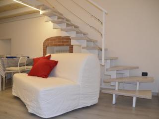 Colourful loft apartment in the city center, Turin