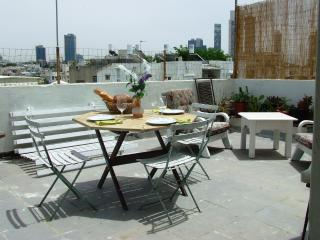LOCATION! ROOF TERRACE/BEACH/CENTRAL/QUIET, Tel Aviv