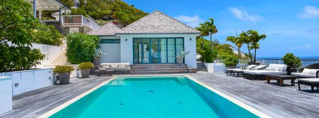 SPECIAL OFFER: St. Barths Villa 107 A Chic Villa Perched On The Hill And Overlooking Marigot Bay.