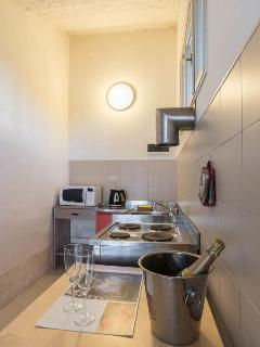 Try Italian recipes in the fully equipped kitchen