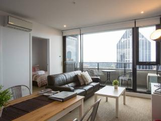 Central CBD 2BR Apartment + Stunning View, Melbourne
