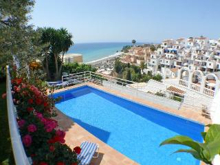 House with garden,private pool and sea views, Nerja