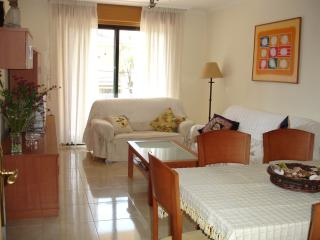 Flat in condo with pool at Sanxenxo center village
