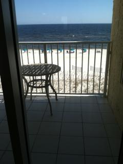 Large Balcony over Beach and Gulf, Fort Walton Beach