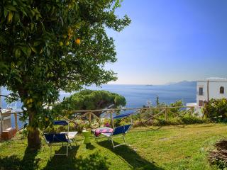 Villa Michara Praiano luxury house garden sea view