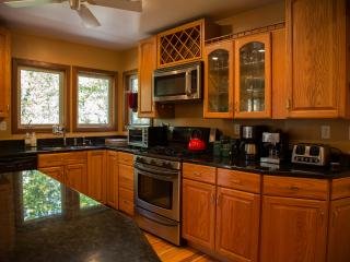 Riverfront Luxury in the Woods with Loads of Light, Elkins