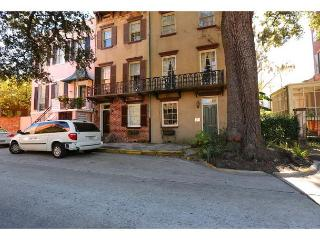 Experience history in this beautiful row home, Savannah