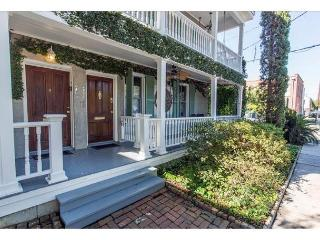 This home has 2 bedrooms and a third, private living area with a murphy bed., Savannah