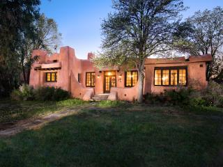 The Historic Pink House of Downtown Santa Fe