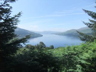 Stunning house with magnificent views over Loch, Fearnan