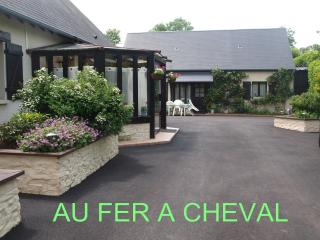 au fer à cheval, Beaumont-en-Auge