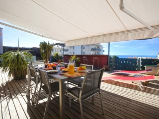 Cozy penthouse in Sitges sea views up to 4 people