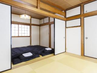 Tatami Room in Osaka by bathouse, Kyoto 15min