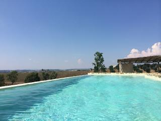Villa in Tuscany Located Uphill with Over Hills, Manciano